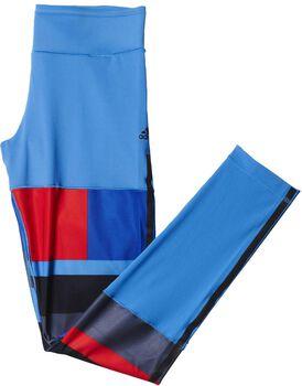 Adidas Wow Drop 2 tight Dames Blauw