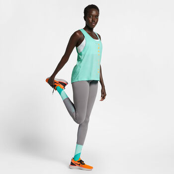 Nike Miler Surf top Dames Groen