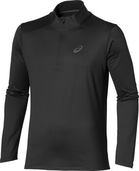 Asics Essential Winter 1/2 Zip longsleeve Heren Zwart