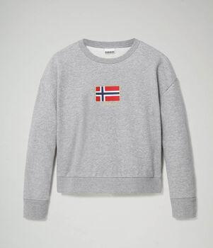 Napapijri Bhea sweater Dames Grijs