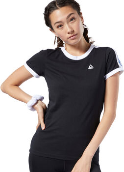 Reebok Training Essentials Linear Logo T-shirt Dames Zwart