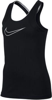 Nike Pro jr top Meisjes Zwart