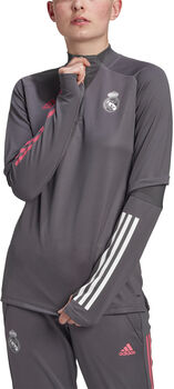 adidas Real Madrid Training Longsleeve shirt 20/21 Dames Grijs