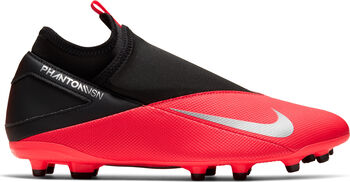 Nike Phantom Vision 2 Club Dynamic Fit MG Voetbalschoenen Heren Rood