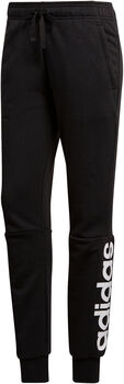 adidas Essentials Linear broek Dames Zwart