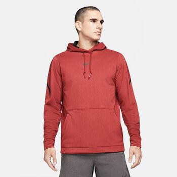 Nike Pro hoodie Heren Rood
