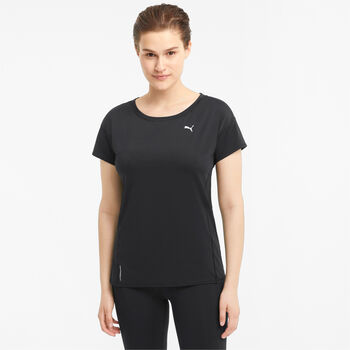 Puma Train Favorite t-shirt Dames Zwart