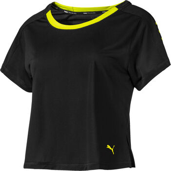 Puma Logo Graphic shirt Dames Zwart