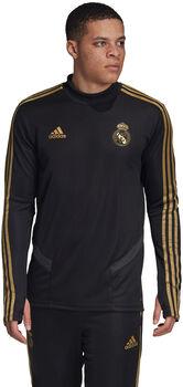 adidas Real Madrid trainingshirt Heren Zwart