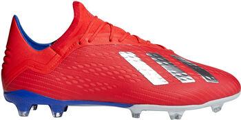 ADIDAS X 18.2 FG voetbalschoenen Heren Rood