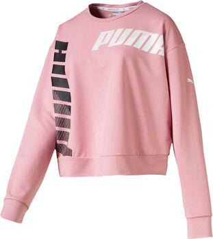 Puma Modern Sport Crew sweater Dames Roze