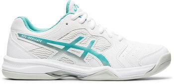ASICS Gel-Dedicate 6 Indoor tennisschoenen Dames Wit