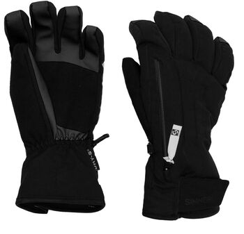 Sinner Sunlight handschoenen Dames Zwart