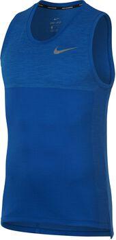 Nike Dry Medalist Running singlet Heren Blauw