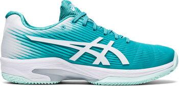 ASICS Solution Speed FF Clay tennisschoenen Dames Groen
