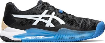 Asics GEL-Resolution 8 Clay tennisschoenen Heren Zwart