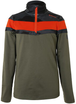 Brunotti Thornbill fleece Jongens Groen