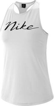 Nike Mini Swoosh top Dames Wit