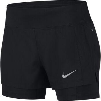 Nike Eclipse 2-in-1 short Dames Zwart