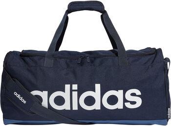 adidas Linear Duffel tas Blauw
