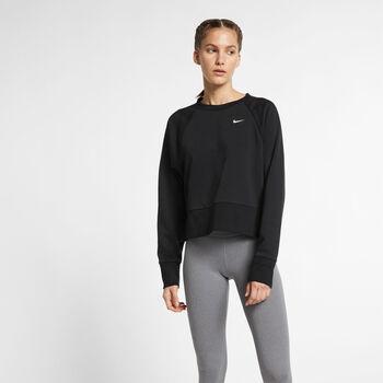 Nike Dri-FIT sweater Dames Zwart
