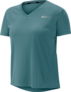 Nike Miler shirt Dames Groen