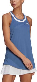 adidas Club Tennis tanktop Dames Blauw