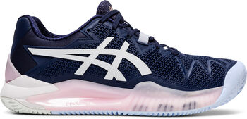 ASICS GEL-Resolution 8 Clay tennisschoenen Dames Blauw