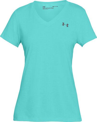 Under Armour - Threadborne Train Twis shirt - Dames - Shirts - Blauw - L