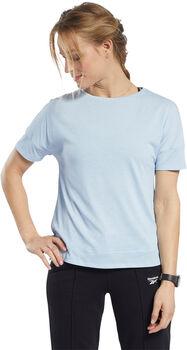 Reebok ACTIVCHILL+COTTON t-shirt Dames Blauw