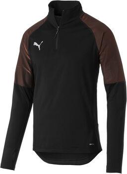 Puma FTBLNXT 1/4 Zip shirt Jongens Zwart