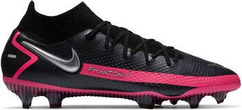 Nike Phantom GT Elite Dynamic Fit FG voetbalschoenen Heren Zwart