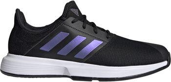 adidas GameCourt tennisschoenen Heren Zwart