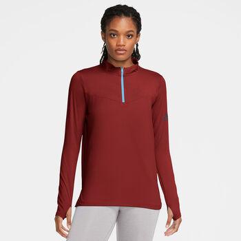 Nike Element Trail longsleeve Dames Rood