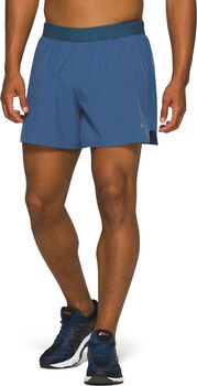 Asics Read 2-N-1 short Heren Blauw