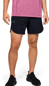 Under Armour Stretch-Woven shorts Heren Zwart