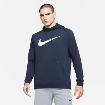 Nike Dri-FIT sweater Heren Blauw