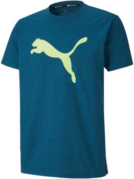 Puma Heather Cat shirt Heren Blauw