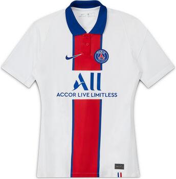 Nike Paris Saint-Germain FC Stadium uitshirt Dames Wit