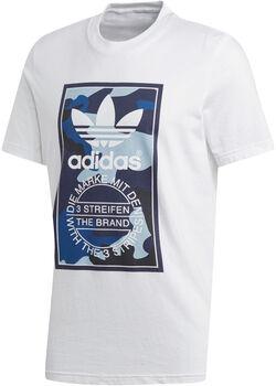 ADIDAS Camo shirt Heren Wit