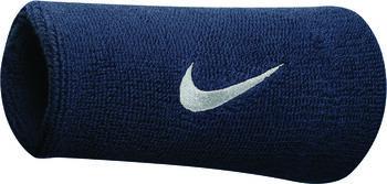 Nike Swoosh Doublewide polsbandje Blauw