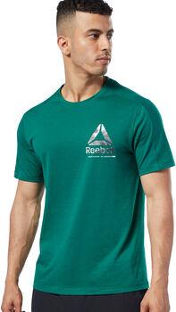 Reebok One Series Training Speedwick shirt Heren Groen