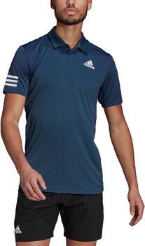 adidas Tennis Club  3-Stripes Poloshirt Heren Blauw