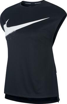 Nike Rebel GX shirt Dames Zwart