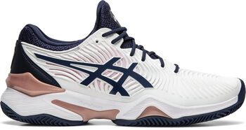 Asics Court FF 2 Clay tennisschoenen Dames Wit
