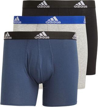 adidas Logo Boxershort 3 Stuks Heren Zwart