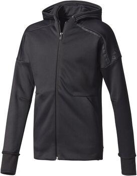 Adidas Z.N.E. Climaheat jr hoodie Meisjes Zwart