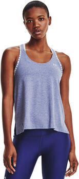 Under Armour Knockout Mesh Back top Dames Blauw