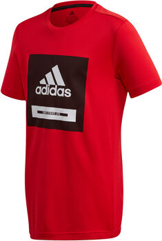 adidas Bold kids shirt Jongens Rood