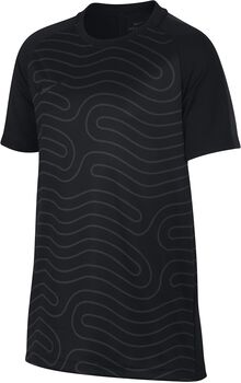 Nike Dry Academy Football shirt Jongens Zwart